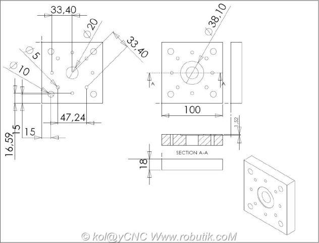 Nema23-step-motor-mount-01